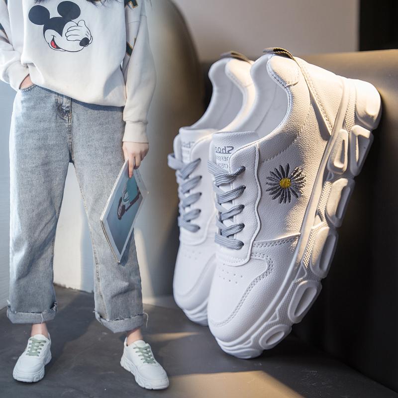 小白鞋女GD同款小雏菊韩版潮鞋2020年春季新款百搭学生ins板鞋子