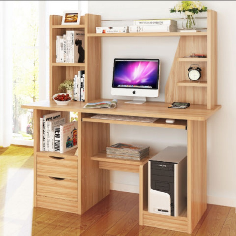 住宅家具电脑桌台式经济型多功能单人桌子组装电脑桌办公桌桌