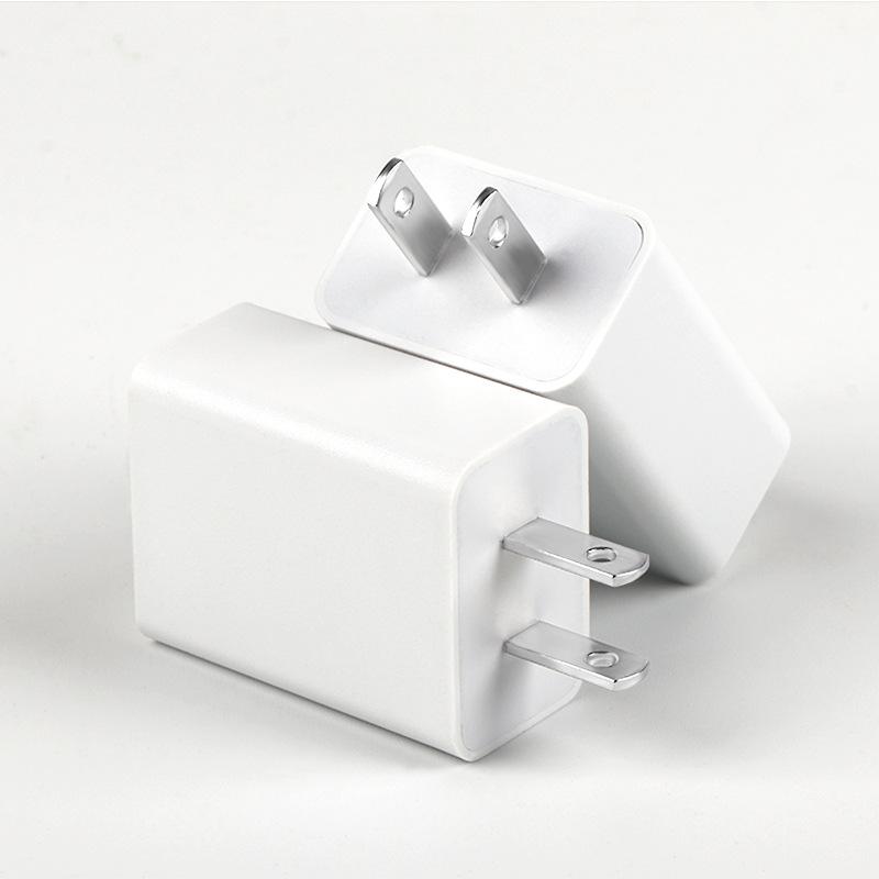 5V2A手机USB充电器3C认证平板数码充电头美规新品