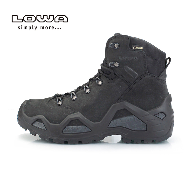 Lowa [official authentic] outdoor z-6n GTX mens middle upper waterproof and wear resistant combat tactical boots