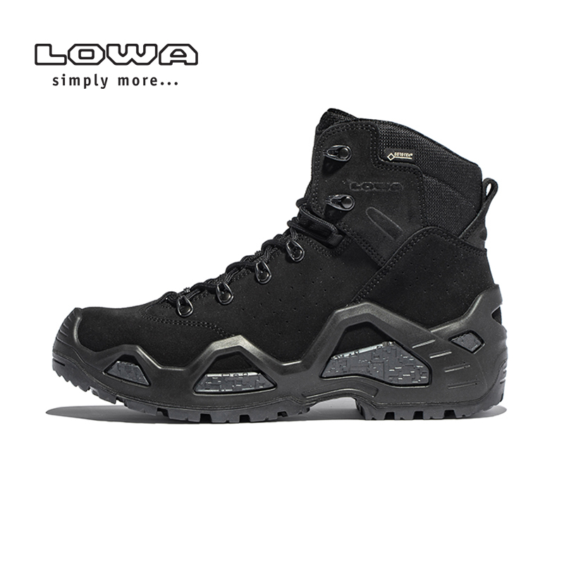 Lowa [official authentic] outdoor z-6s GTX mens middle upper waterproof and wear resistant combat tactical boots