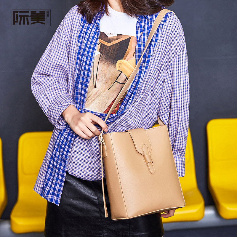 中國代購 中國批發-ibuy99 女包 包包女包2020新款时尚简约水桶包2020女士单肩包大容量手提潮