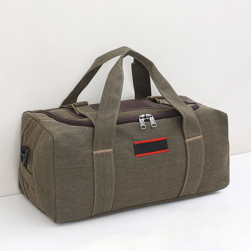 Super large capacity PORTABLE TRAVEL BAG canvas bag men and women luggage packing quilt moving clothes storage bag waiting for delivery bag