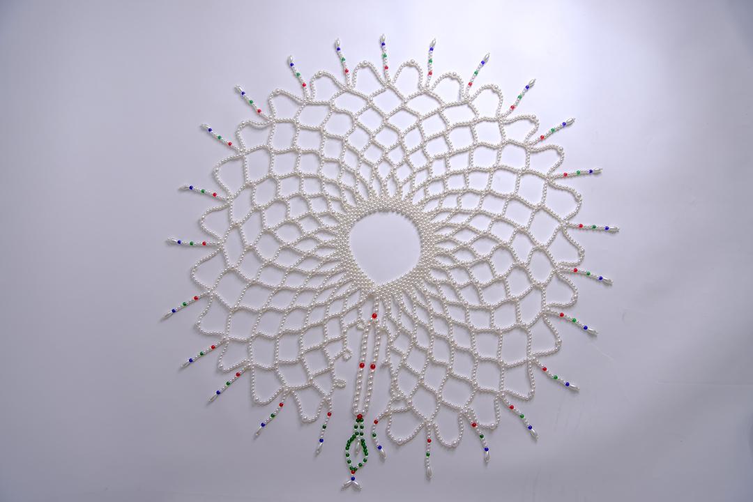 The same pearl cloud shoulder antique Hanfu Xianqi shoulder chain