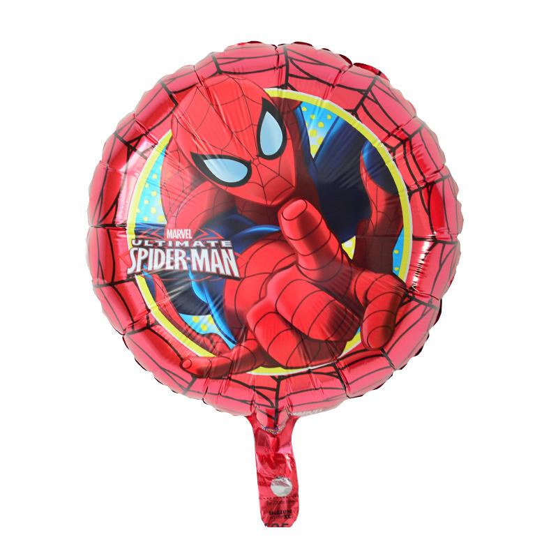 Centennial cartoon balloon toy aluminum foil balloon birthday gift Spiderman aluminum film balloon childrens party decoration