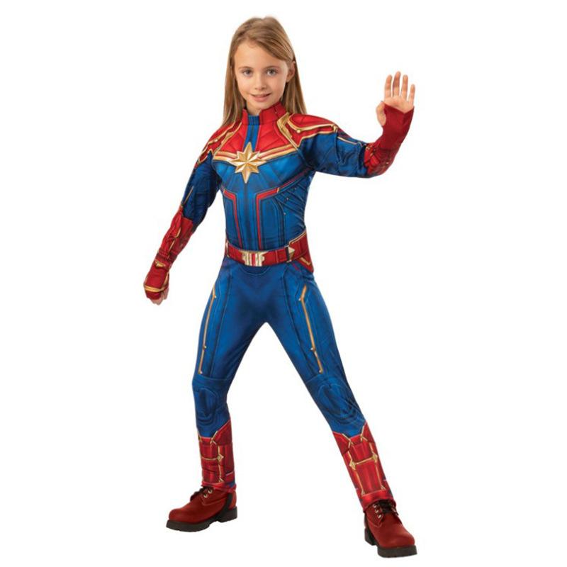 新モデルの女性スーパーヒーロー驚きリーダーコスプレ衣装コスプレコスプレコスプレオーダーA 16