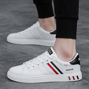 四季新款男士板鞋休闲运动小白鞋子百搭韩版潮流风男鞋子