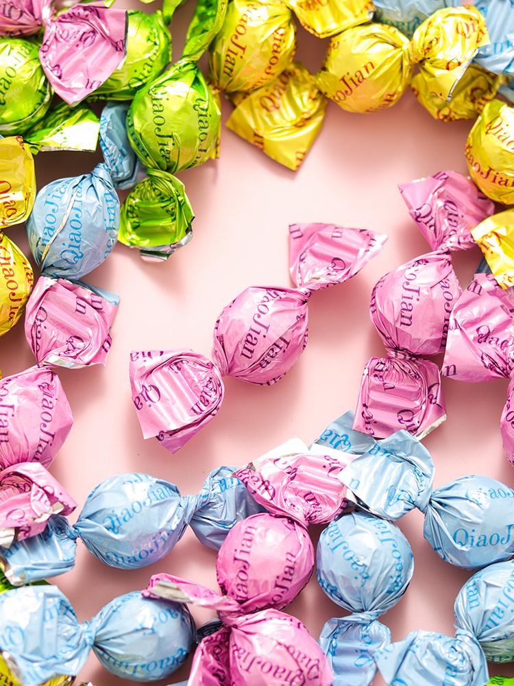 巧见乳果抖音乳球水果牛奶糖果奶片学生热门网红618超值小零食