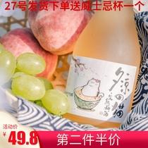 300ML日式青梅酒女士低度甜酒天然梅子酒貓夕涼號發貨27