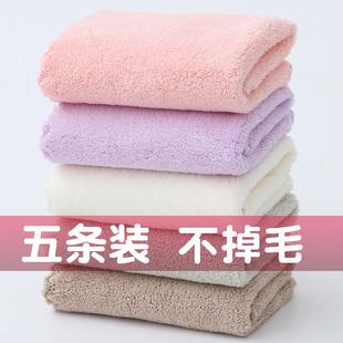 温迪儿童方巾洗脸巾珊瑚绒宝宝柔软吸水小毛巾婴儿舒适小面巾加厚