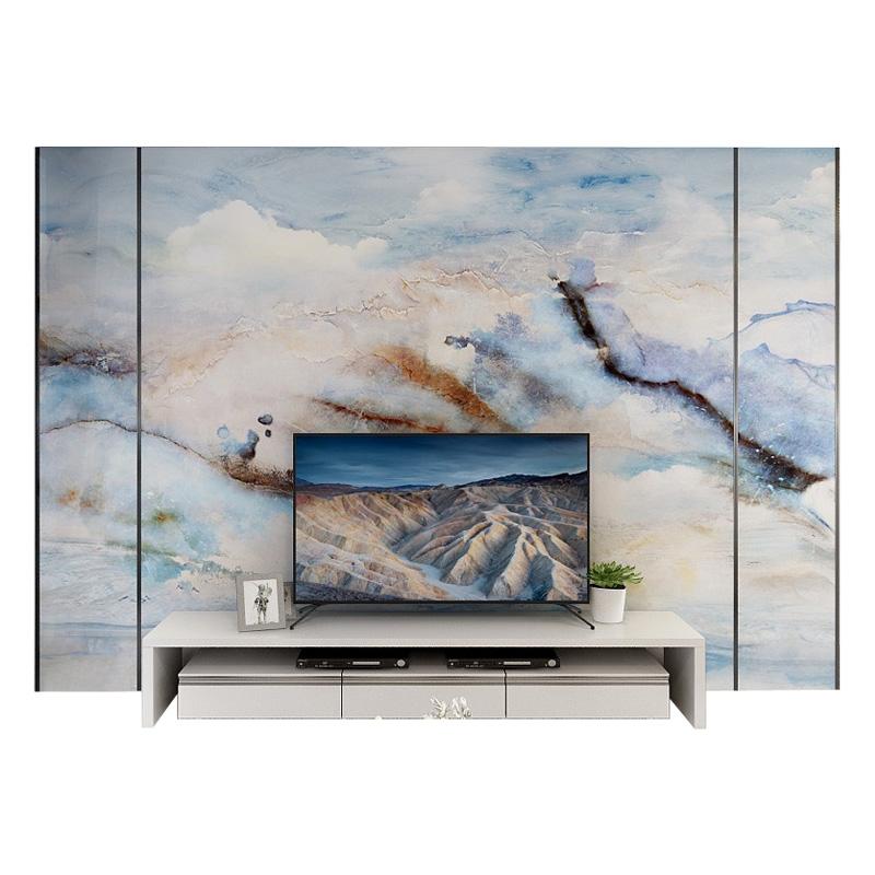 晶石电视背景墙瓷砖客厅影视墙装饰大理石瓷砖背景墙现代简约微限6000张券