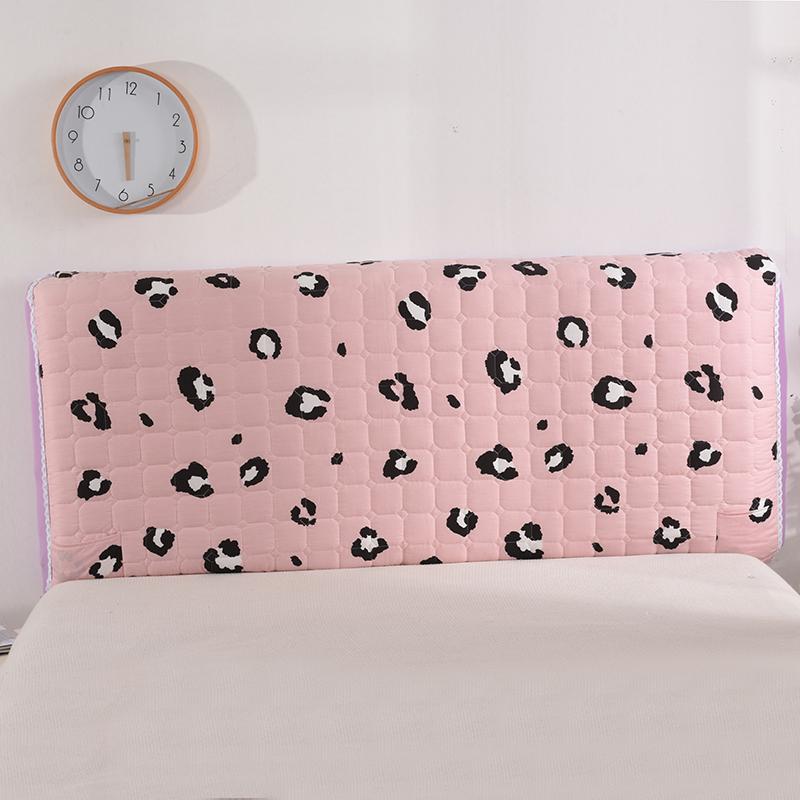 皮床头靠背罩防尘保护全包纯绵床头罩套布艺套1.8米公主风床头套118.00元包邮