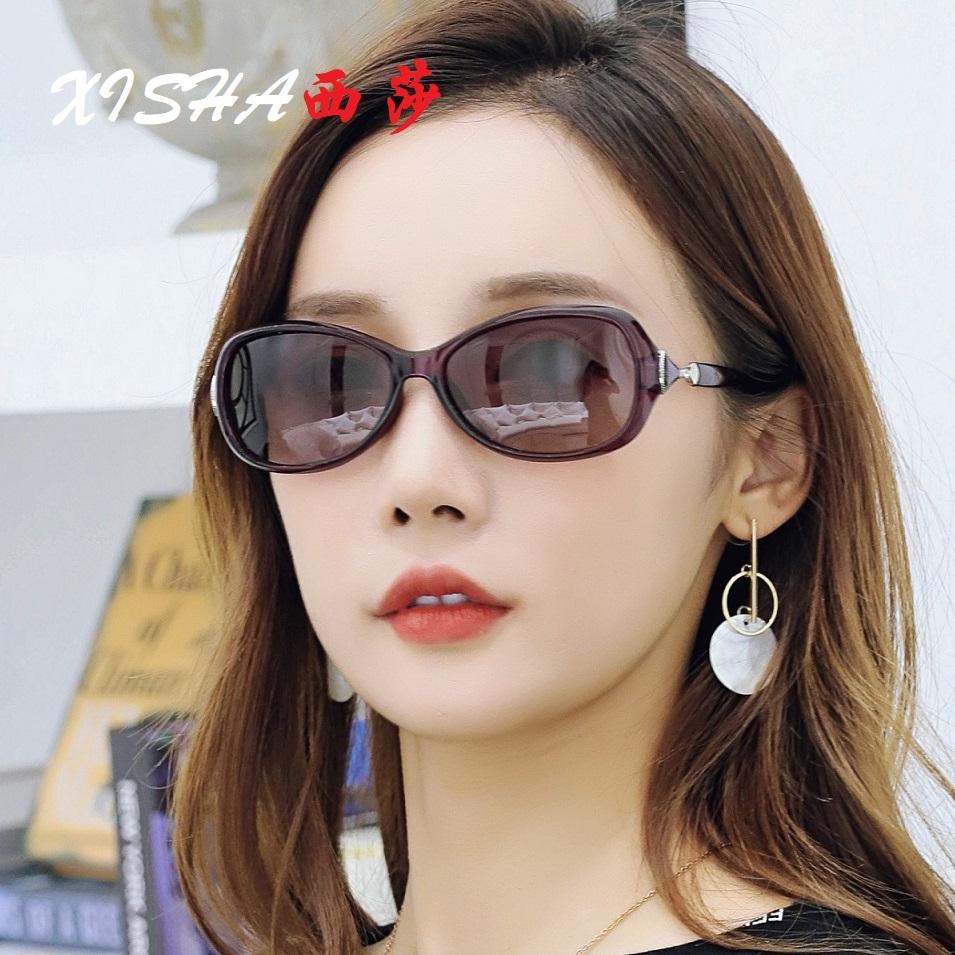 2020新款偏光太阳镜女士时尚小脸小框眼镜开车防晒可配近视墨镜潮