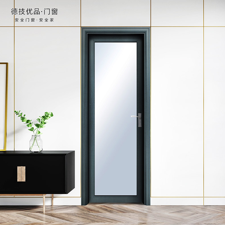 German technology superior doors and windows, Cambridge time 80 toilet swing door, sound insulation and heat insulation aluminum alloy, customized nationwide