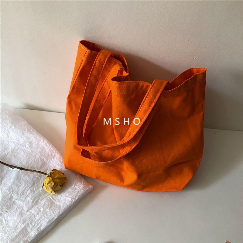 仙女包包款肩包18ins样品百搭同单大容量色款女风音抖帆布纯色