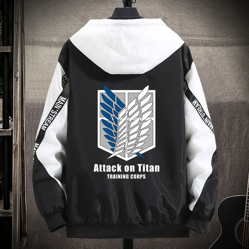 Attacking giant tooling autumn jacket peripheral clothes soldier long guard pants joint name Cape free wing coat
