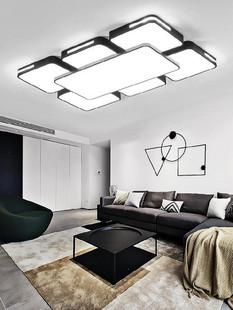 家用卧室灯超薄长方形阳台灯饰农村客厅灯吊灯超薄卧室灯简约现代