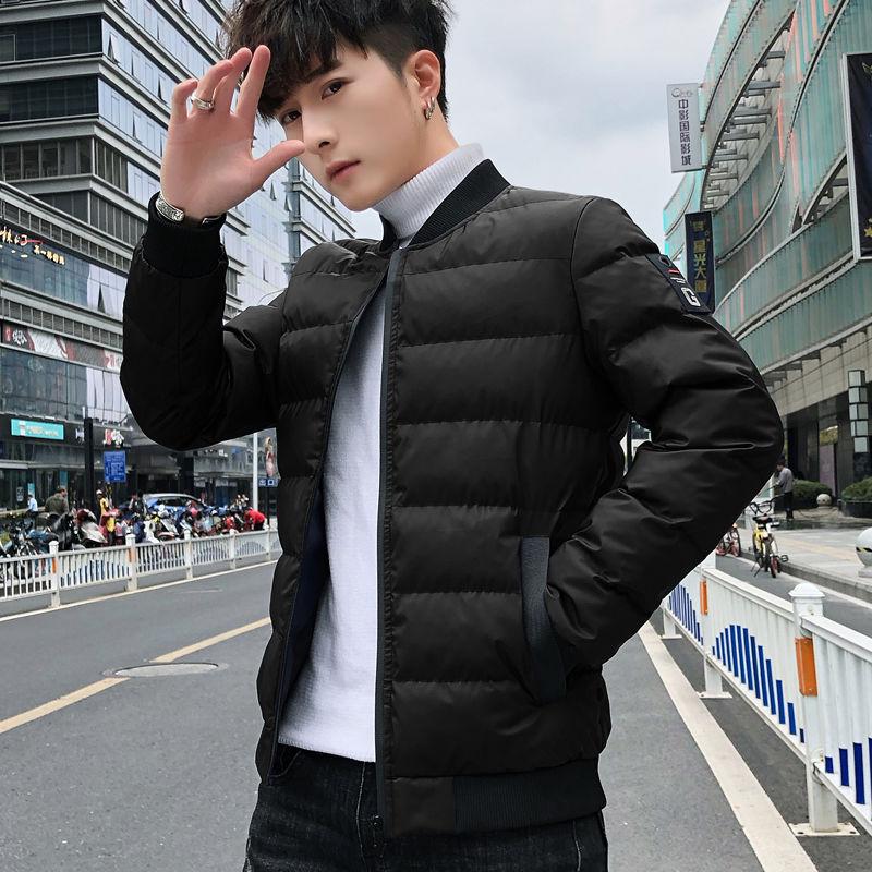 冬季中青年休闲加厚夹克棉衣保暖外套
