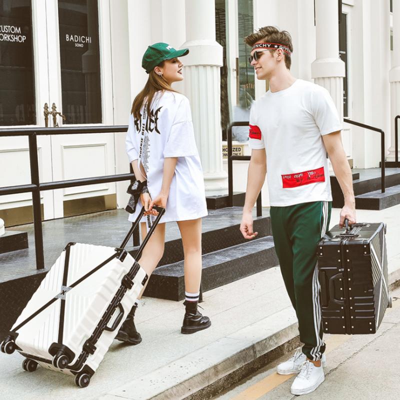 东晟丽可以坐的箱子拉杆箱大容量旅游行李箱淘宝心选旅行箱青春版