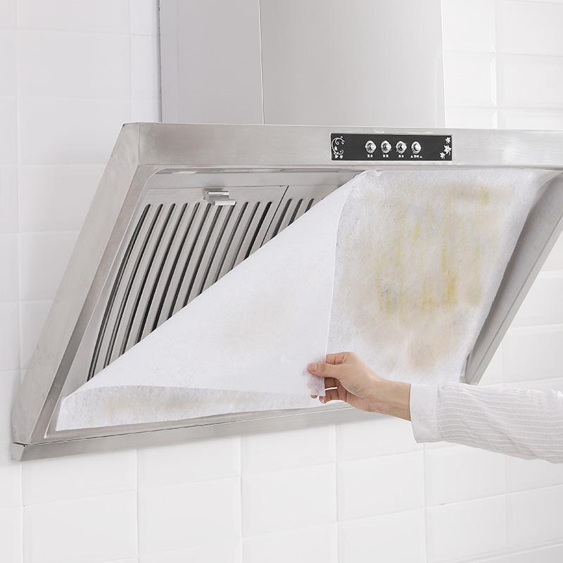 日本の輸入の家庭用の換気扇の防油シールの濾過ネットのあぶらとり紙の台所用品の防油綿のカバーが厚いです。