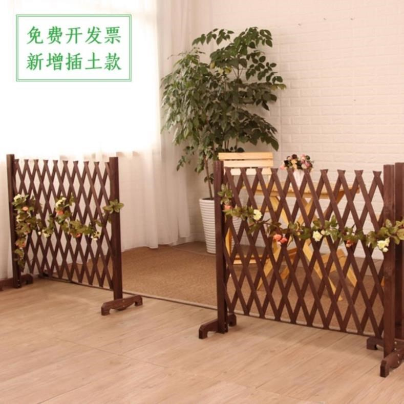 Garden fence fence small fence courtyard wall outdoor grid wooden poultry family toy style kitchen dog farm