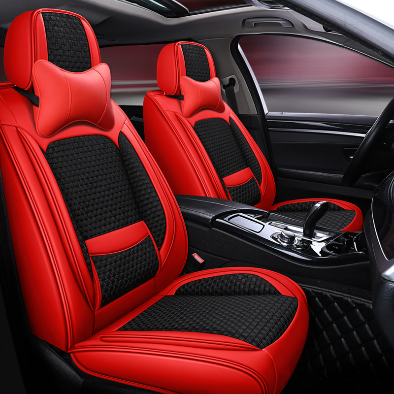 2020 new summer VW cushion four seasons universal all around seat set vehicle with waist protection