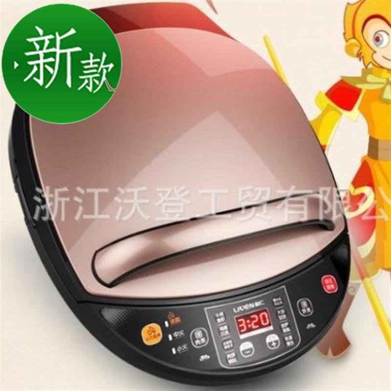 Multi functional electric cake pan household appliances kitchen small home Q electric frying oven barbecue machine pizza machine 304