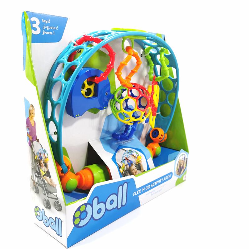 中國代購|中國批發-ibuy99|oppo|o5ball奥波球 欢乐推车挂件玩具婴儿手抓软球低幼玩具