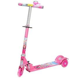 2岁儿童滑板车4轮音乐滑板3闪光5折叠6女童7岁蜘蛛侠公主男童单脚图片