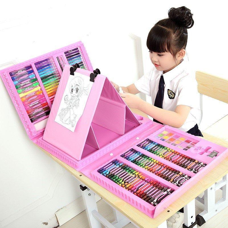 套盒入门画笔手绘大容量多款可选绘图培养宝贝生日礼物女儿童公。