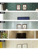 美式乡村田园风格墨绿色墙纸复古欧花欧式卧室客厅电视背景墙壁纸