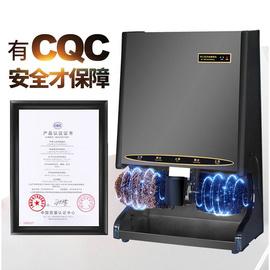 申江C201擦皮鞋機大堂前臺刷鞋機電動擦鞋器酒店全自動感應擦鞋機圖片