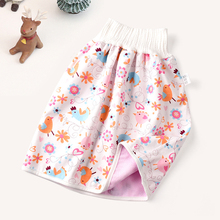 Diaper skirt, anti bed urination device, children's pure cotton waterproof baby, non diaper, adult menstruation, anti side leakage diaper pants