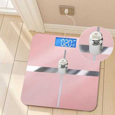 Optional ubs rechargeable electronic weighing scale, accurate household health scale, body scale, adult weight loss weighing machine