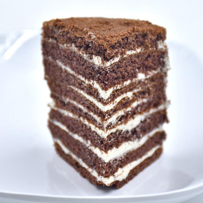 正宗俄罗斯进口提拉米苏巧克力千层蛋糕点心面包甜品零食脏脏包邮