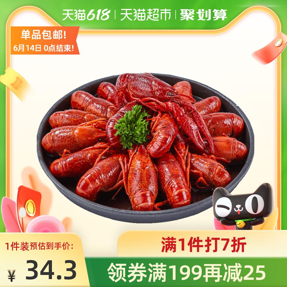 寰球渔市龙小甲整只小龙虾加热即食冷冻非鲜活750g麻辣味十三香味