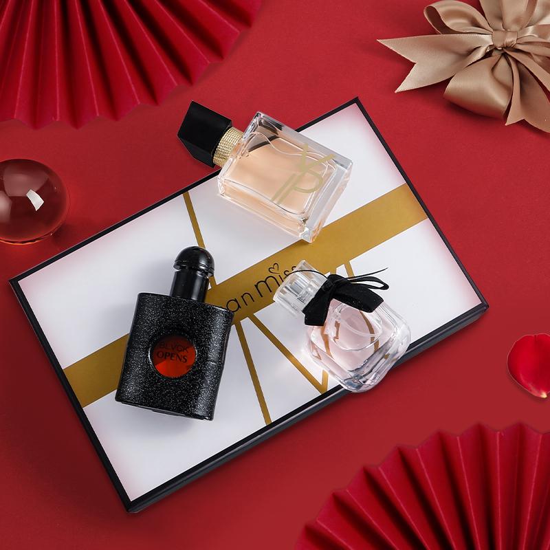 JEAN MISS自由派对香水礼盒黑鸦片反转巴黎女士香水持久留香淘宝优惠券