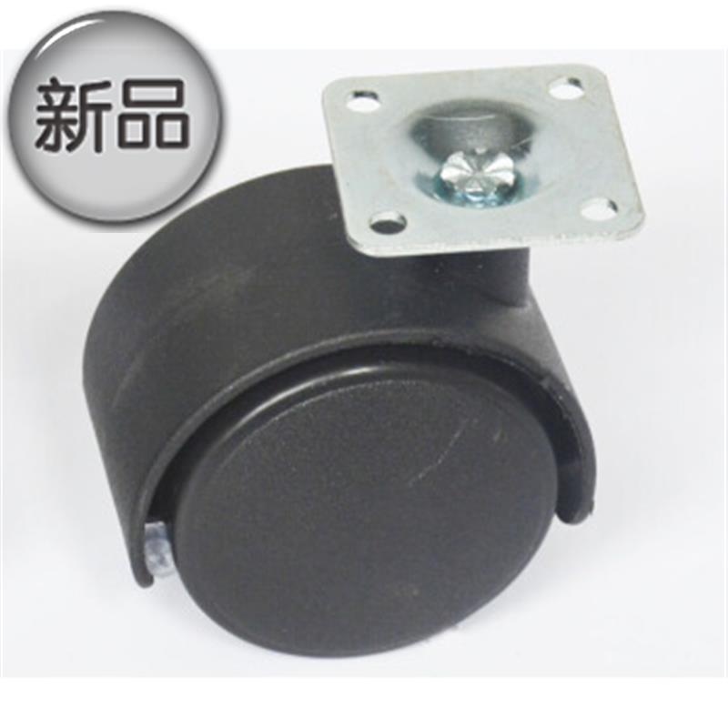 2 inch universal wheel swivel chair flat g wheel office desk rubber a rubber roller computer accessories furniture pulley cabinet static