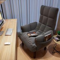 懒人沙发单人榻榻米小沙发宿舍电脑椅卧室阳台办公椅可折叠喂奶椅