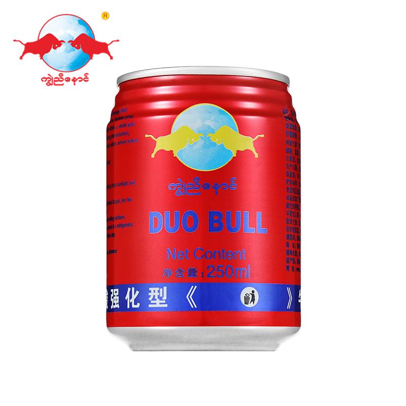 红牛味道功能性饮料运动型能量饮品缅甸原装进口红罐双牛8罐装