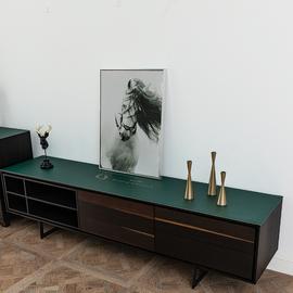 皮革电视柜桌布长条盖布卧室北欧床头柜梳妆台防尘罩套鞋柜布加厚