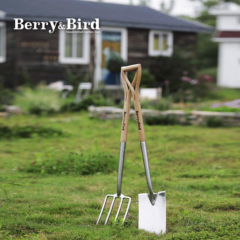 berry&bird户外挖土种菜铁锹铲铲子