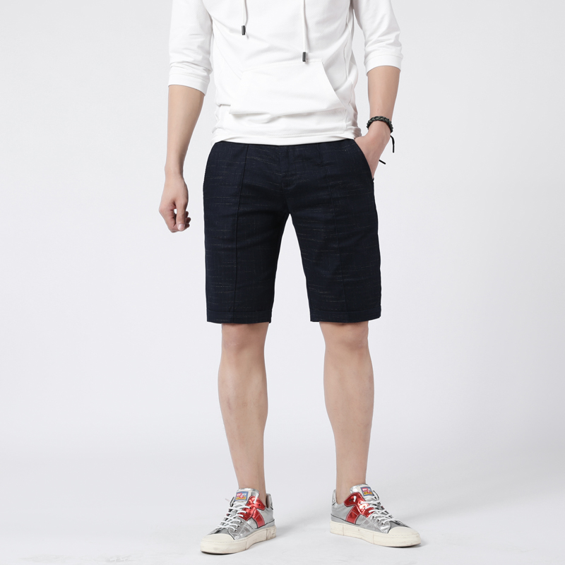 2020 new summer mens shorts Korean slim Shorts Youth versatile cool casual pants trend mens shorts