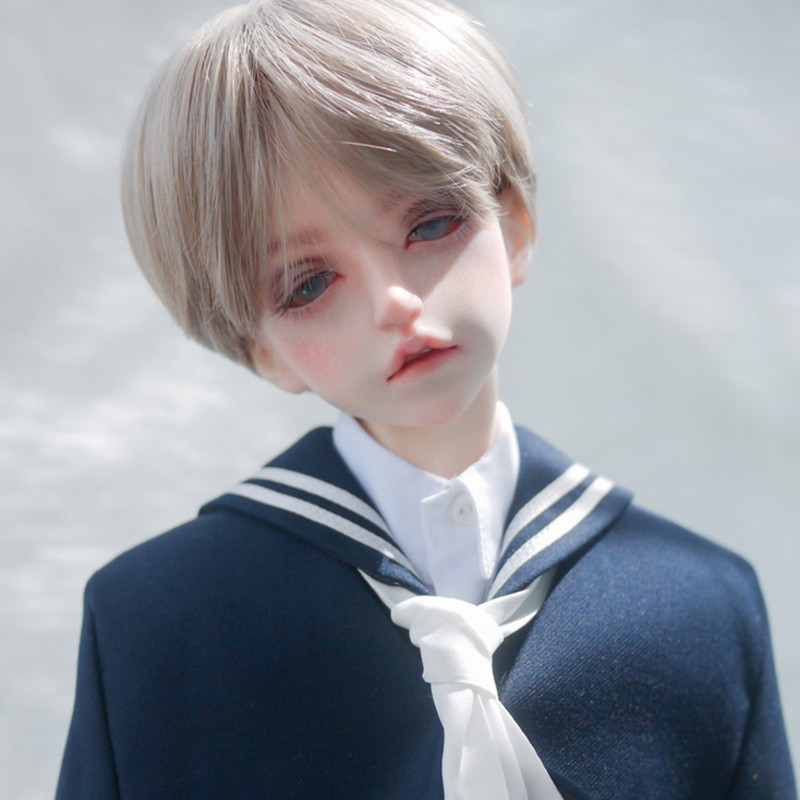 [ms-doll]} BJD wig 1 / 3 SD baby DD giant baby soul short hair high temperature silk male uncle