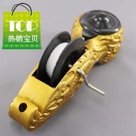 金色墨斗龙型手卷墨斗 划线7器 新款 银色 龙头墨斗 木工画线器