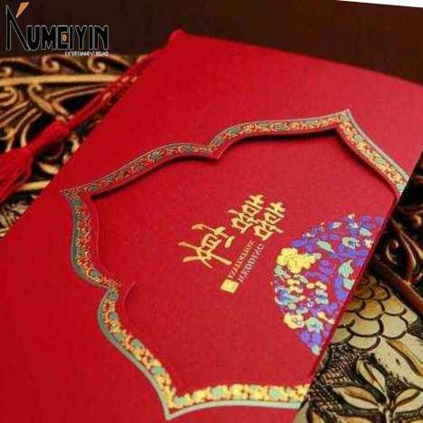 -chinese style wedding invitation card chinese style wedding图片
