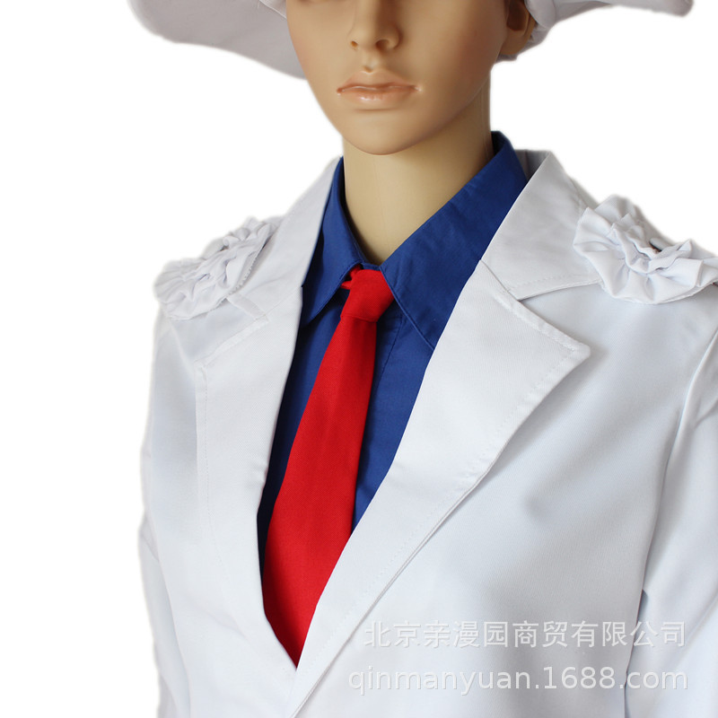 Famous detective Conan magic fight 1412 black feather fight strange thief Kidd clothes show party cosplay