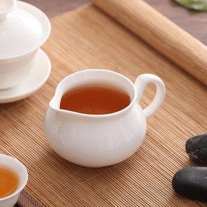 潮州陶瓷骨瓷玉瓷简约家用纯白色小号盖碗茶杯茶壶三才碗功夫茶具