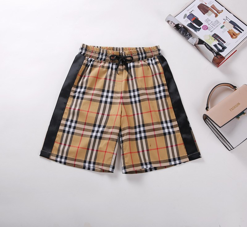 2020 summer classic retro net red plaid shorts for female Korean Students