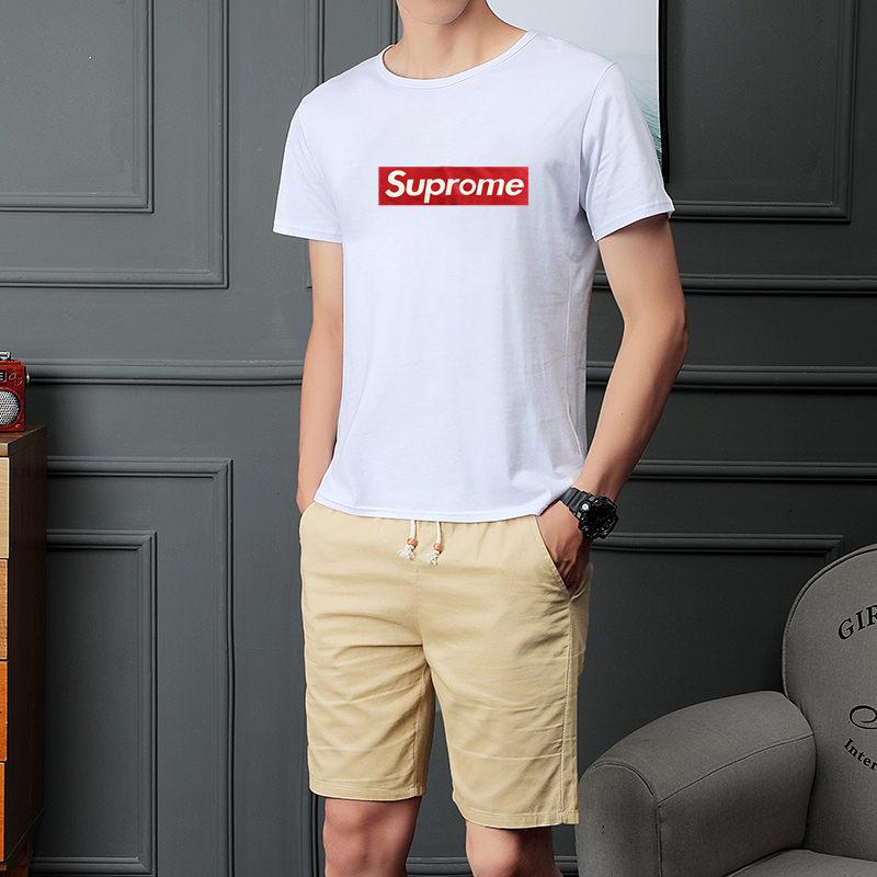 夏季棉质短袖短裤韩版透气宽松搭配两件套